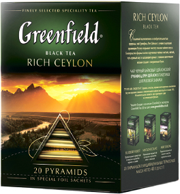 Чай Greenfield Rich Ceylon