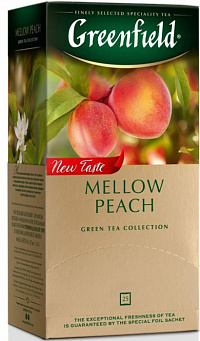 Чай Greenfield Mellow Peach