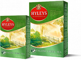 Чай Hyleys English Green Tea