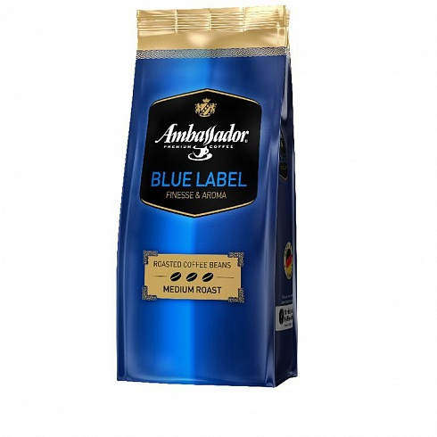 Кофе зерно Ambassador Blue label