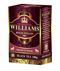 Чай черный Williams Royal Ceylon