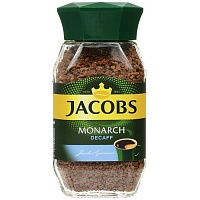 Кофе Jacobs Monarch Decaff (без кофеина)