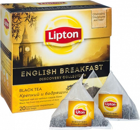 Чай Lipton English Breakfast