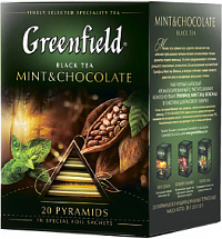 Чай Greenfield Mint & Chocolate