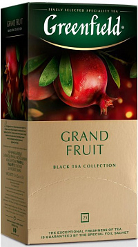 Чай Greenfield Grand Fruit