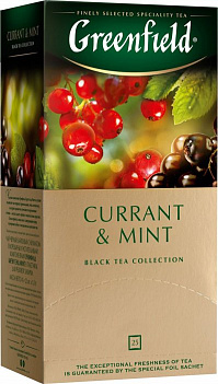 Чай Greenfield Currant & Mint